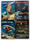 Pulps:Science Fiction, Astounding Stories Box Lot (Street & Smith, 1949-58) Condition:Average VG....