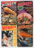 Pulps:Science Fiction, Thrilling Wonder Stories Box Lot (Standard, 1936-53) Condition:Average VG....