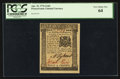 Colonial Notes:Pennsylvania, Pennsylvania April 25, 1776 2s 6d PCGS Very Choice New 64.. ...