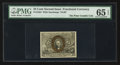 Fractional Currency:Second Issue, Fr. 1284 25¢ Second Issue PMG Gem Uncirculated 65 EPQ.. ...