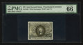 Fractional Currency:Second Issue, Fr. 1285 25¢ Second Issue PMG Gem Uncirculated 66 EPQ.. ...