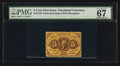 Fractional Currency:First Issue, Fr. 1228 5¢ First Issue PMG Superb Gem Unc 67 EPQ.. ...