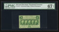 Fractional Currency:First Issue, Fr. 1311 50¢ First Issue PMG Superb Gem Unc 67 EPQ.. ...