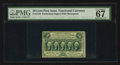 Fractional Currency:First Issue, Fr. 1310 50¢ First Issue PMG Superb Gem Unc 67 EPQ.. ...