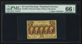 Fractional Currency:First Issue, Fr. 1280 25¢ First Issue PMG Gem Uncirculated 66 EPQ.. ...