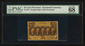 Fractional Currency:First Issue, Fr. 1281 25¢ First Issue PMG Superb Gem Unc 68 EPQ.. ...
