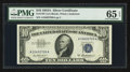 Small Size:Silver Certificates, Fr. 1707 $10 1953A Silver Certificate. PMG Gem Uncirculated 65 EPQ. ...