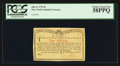 Colonial Notes:New York, New York Jan. 6, 1776 4s PCGS Choice About New 58PPQ.. ...