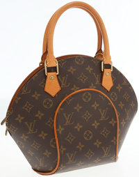 Louis Vuitton Classic Monogram Canvas Ellipse PM Top Handle Bag
