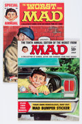 Magazines:Humor, Worst From Mad #10 and 12 Group (EC, 1967-69) Condition: AverageVF+.... (Total: 2 Comic Books)
