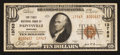 National Bank Notes:Kentucky, Paintsville, KY - $10 1929 Ty. 2 The First NB Ch. # 13763. ...