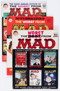 Magazines:Humor, Worst From Mad Group (EC, 1958-68) Condition: Average VG+....(Total: 8 Comic Books)
