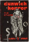 Books:Science Fiction & Fantasy, [H. P. Lovecraft]. The Dunwich Horror and Others. The Best Supernatural Stories of H. P. Lovecraft. Arkham House...