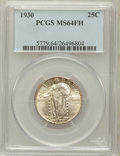 Standing Liberty Quarters: , 1930 25C MS64 Full Head PCGS. PCGS Population (896/967). NGCCensus: (777/643). Mintage: 5,632,000. Numismedia Wsl. Price f...