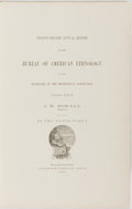 Books:Americana & American History, J. W. Powell, Director. Twenty-Second Annual Report of theBureau of American Ethnology to the Secretary of theSmithson...