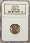Liberty Nickels: , 1900 5C MS65 NGC. NGC Census: (160/43). PCGS Population (149/47).Mintage: 27,255,996. Numismedia Wsl. Price for problem fr...