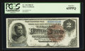 Large Size:Silver Certificates, Fr. 244 $2 1886 Silver Certificate PCGS Gem New 65PPQ.. ...