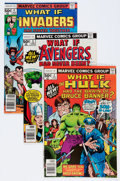 Modern Age (1980-Present):Superhero, What If? #2-45 Group (Marvel, 1977-84) Condition: Average VF.... (Total: 47 Comic Books)