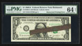 Error Notes:Major Errors, Fr. 1930-E $1 2003A Federal Reserve Note. PMG Choice Uncirculated64 Net.. ...