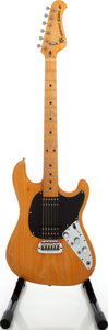 Musical Instruments:Electric Guitars, 1978 Music Man Sabre II Natural Solid Body Electric Guitar, Serial # A005328. ...