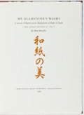 Books:Books about Books, Hand Schmoller. LIMITED. Mr. Gladstone's Washi. A Survey ofReports on the Manufacture of Paper in Japan, The Parker Rep...