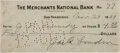 "Autographs:Authors, Jack London. Bank Check Endorsed ""Jack London"". Drawn on the Merchants National Bank of San Francisco, November 24, 1909..."