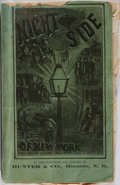 Books:Americana & American History, Frank Beard, illustrator. The Night Side of New York. A Pictureof the Great Metropolis by Members of the New York Press...