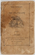 Books:Literature Pre-1900, [Samuel Wood]. The Hermit and The Traveller. Samuel Wood,1814. Publisher's printed stiff wrappers. Wrappers soiled ...