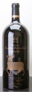 Red Bordeaux, Chateau Mouton Rothschild 2000 . Pauillac. #0760/5000. Jeroboam (1). ... (Total: 1 Jero. )