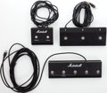 Musical Instruments:Amplifiers, PA, & Effects, Marshall Footswitch Lot of 3....