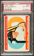 Baseball Cards:Singles (1960-1969), 1960 Topps Mickey Mantle All Star #563 PSA EX-MT 6....