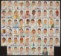Baseball Collectibles:Others, Baseball Greats Signed (58) and Unsigned (200+) Perez Steele Postcards....