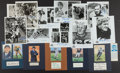 Football Collectibles:Photos, Collection of Football Signed Photographs and Parchment - Lot of 13....