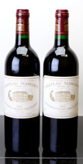 Red Bordeaux, Chateau Margaux 1995 . Margaux. 2lbsl. Bottle (2). ...(Total: 2 Btls. )