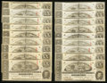 Confederate Notes:1863 Issues, T58 $20 1863 Twenty-Five Examples CC.. ... (Total: 25 notes)