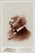 Books:Americana & American History, Adolph Sutro, Mayor of San Francisco, Cabinet Photograph. 4.25 x6.5 inches. Taber, San Francisco studio imprint on verso an...