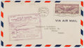 """Books:Americana & American History, [First Day Cover]. """"U.S.S. Akron Coast to Coast Trip"""" Air MailCover, May 8, 1932. Postmarked Lakehurst, New Jersey and San ..."""