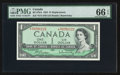 Canadian Currency: , BC-37bA $1 1954 Replacement Note. ...