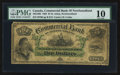 Canadian Currency: , Saint Johns, NF- Commercial Bank of Newfoundland $5 Jan. 3, 1888 Ch# 185-18-06. ...