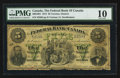 Canadian Currency: , Toronto, ON- The Federal Bank of Canada $5 July 1, 1874 Ch #300-10-04. ...