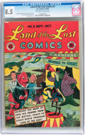 Golden Age (1938-1955):Funny Animal, Land of the Lost Comics #2 (EC, 1946) CGC VF+ 8.5 Off-white towhite pages....
