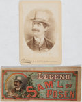 Books:Americana & American History, [Theater]. The Legend of Sam'l of Posen, 19th CenturyTheater Souvenir Booklet and Cabinet Card. Cabinet card fe...