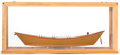 Maritime, A MODEL OF A GRAND BANKS DORY BY HARRY MCCREERY. 8-3/4 x 20x 8 inches (22.2 x 50.8 x 20.3 cm). ...