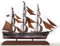 Maritime:Decorative Art, ALL WOOD SAILORS MODEL OF THE SOVEREIGN OF THE SEAS . 36 x 52 x 14inches (91.4 x 132.1 x 35.6 cm). ...