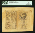 Colonial Notes:South Carolina, South Carolina February 8, 1779 $50 Sheet of Two PCGS Apparent About New 50.. ...