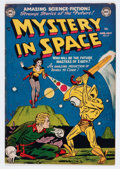 Golden Age (1938-1955):Science Fiction, Mystery in Space #8 (DC, 1952) Condition: FN-....