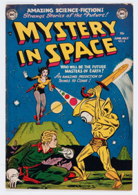 Mystery in Space #8 (DC, 1952) Condition: FN-