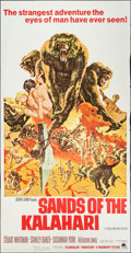 """Movie Posters:Adventure, Sands of the Kalahari & Other Lot (Paramount, 1965). ThreeSheets (2) (41"""" X 79""""). Adventure.. ... (Total: 2 Items)"""