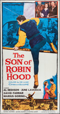"Movie Posters:Adventure, The Son of Robin Hood & Other Lot (20th Century Fox, 1959).Three Sheets (2) (41"" X 78""). Adventure.. ... (Total: 2 Items)"