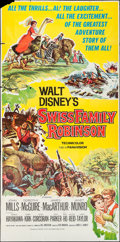 "Movie Posters:Adventure, Swiss Family Robinson and Other Lot (Buena Vista, 1960). ThreeSheets (2) (41"" X 84""). Adventure.. ... (Total: 2 Items)"